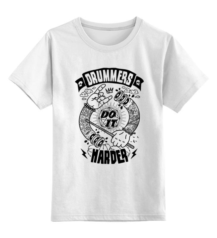 Детская футболка классическая унисекс Printio Жизнь барабанщика детская футболка классическая унисекс printio мачете