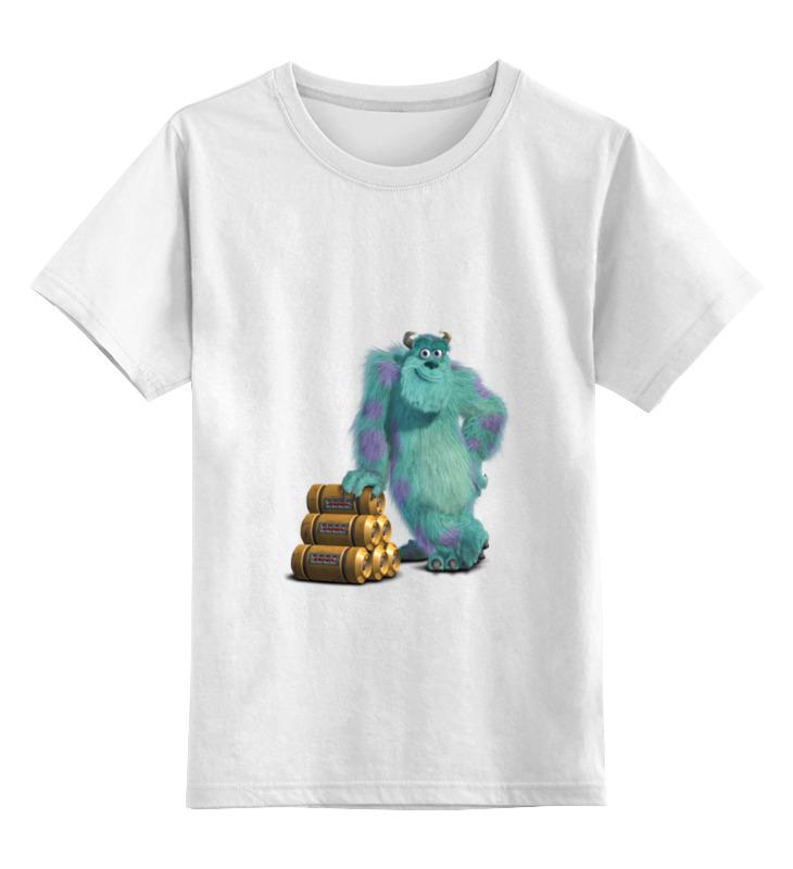 Фото - Детская футболка классическая унисекс Printio Джеймс пи салливан (салли) джеймс а холл юнгианское толкование сновидений практическое руководство