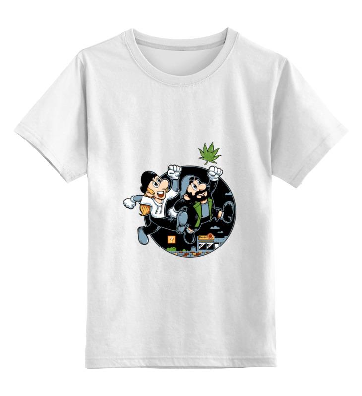 Детская футболка классическая унисекс Printio Джей и молчаливый боб детская футболка классическая унисекс printio спанч боб