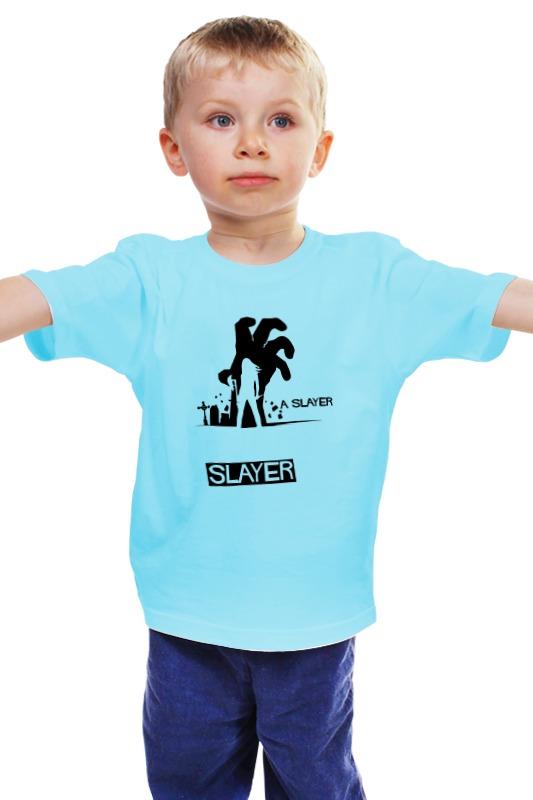 Детская футболка классическая унисекс Printio Баффи (buffy) футболка стрэйч printio баффи buffy