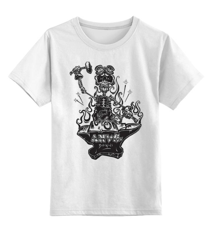 Детская футболка классическая унисекс Printio Skeleton art детская футболка классическая унисекс printio соник