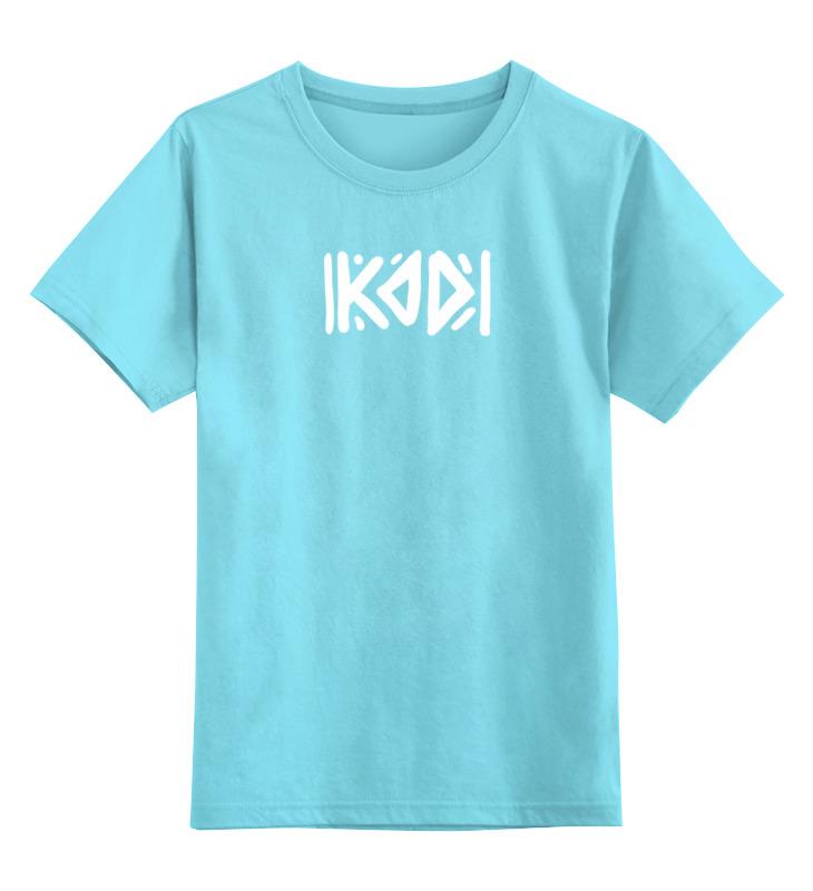 Детская футболка классическая унисекс Printio Футболка с логотипом kod футболка print bar футболка с логотипом карателя