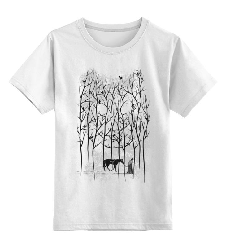Детская футболка классическая унисекс Printio джон сноу цена и фото