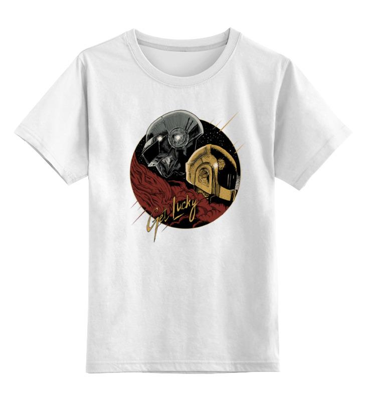 Детская футболка классическая унисекс Printio Get lucky цена