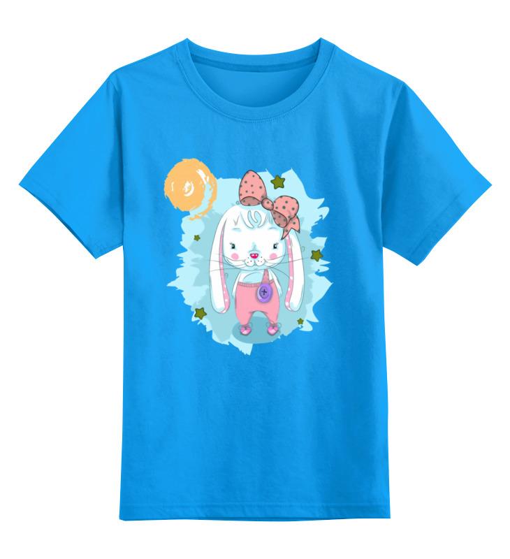 Детская футболка классическая унисекс Printio Зайчонок цена