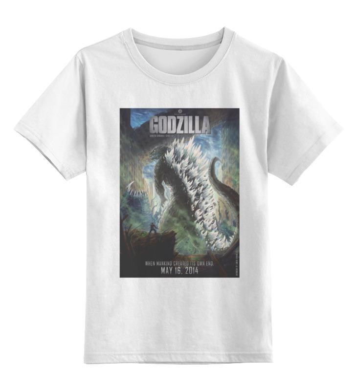 все цены на Детская футболка классическая унисекс Printio Godzilla / годзилла
