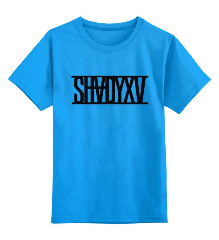 все цены на Детская футболка классическая унисекс Printio Eminem shadyxv онлайн