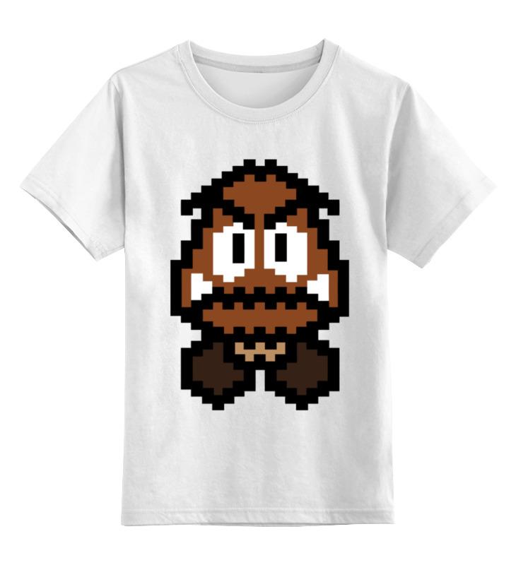 Детская футболка классическая унисекс Printio Гумба (марио) детская футболка классическая унисекс printio гумба