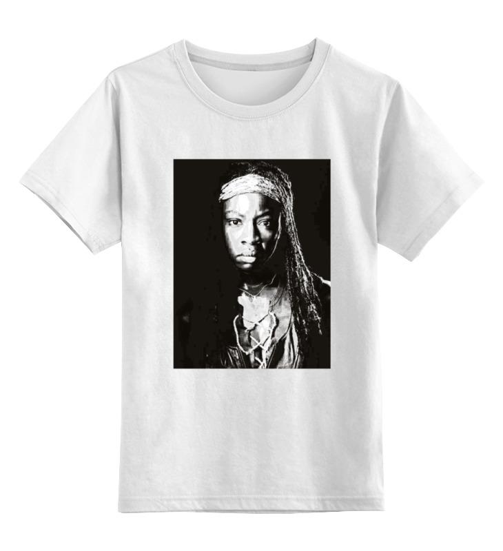 Детская футболка классическая унисекс Printio The walking dead michonne цены онлайн