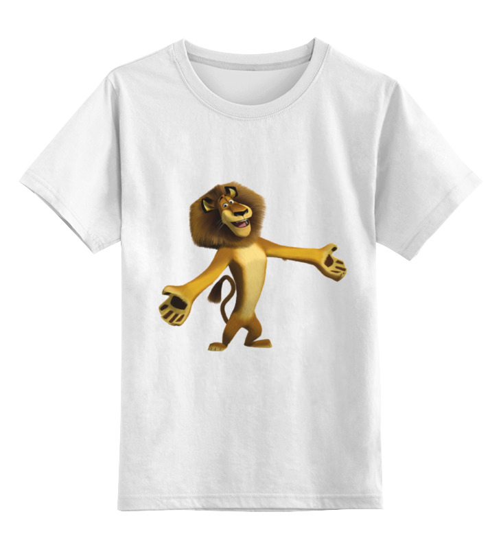 Детская футболка классическая унисекс Printio Лев алекс homeme алекс