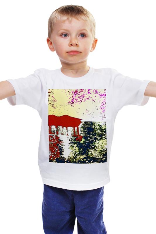 Детская футболка классическая унисекс Printio Мальдивы на закате точность печати которую франция импортированные подлинный dmc крест stitch kit русалка живописи фигур на закате