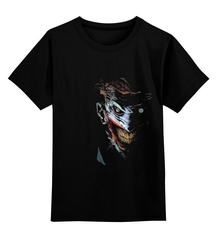 Детская футболка классическая унисекс Printio Джокер костюм страшного клоуна детский 30 32