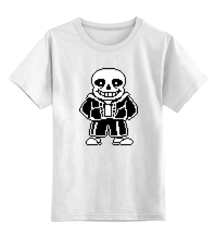 Детская футболка классическая унисекс Printio Санс (undertale) детская футболка классическая унисекс printio санс