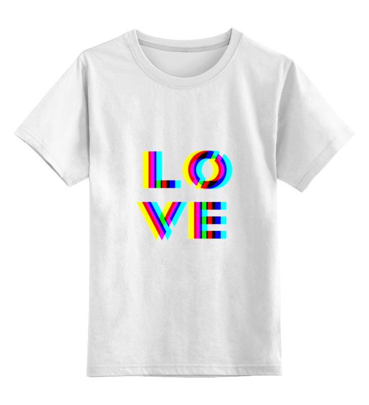 Printio Love 3d детская футболка классическая унисекс printio i love you beary much