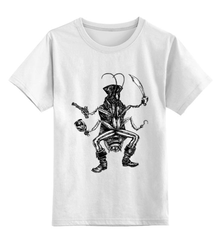 Детская футболка классическая унисекс Printio Джек - таракан футболка классическая printio светильник джек