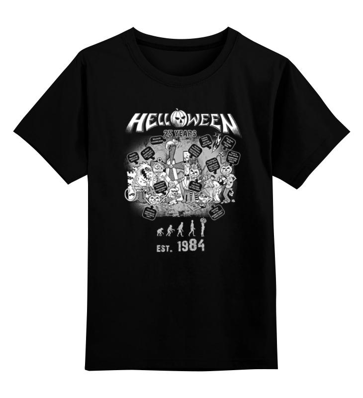 Детская футболка классическая унисекс Printio Helloween ( rock band ) коврик для ванной комнаты iddis leaf mid183c