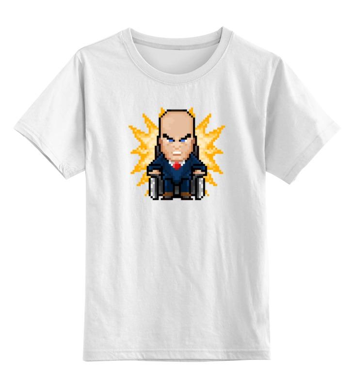 Детская футболка классическая унисекс Printio Профессор икс футболка классическая printio saints row игра профессор генки