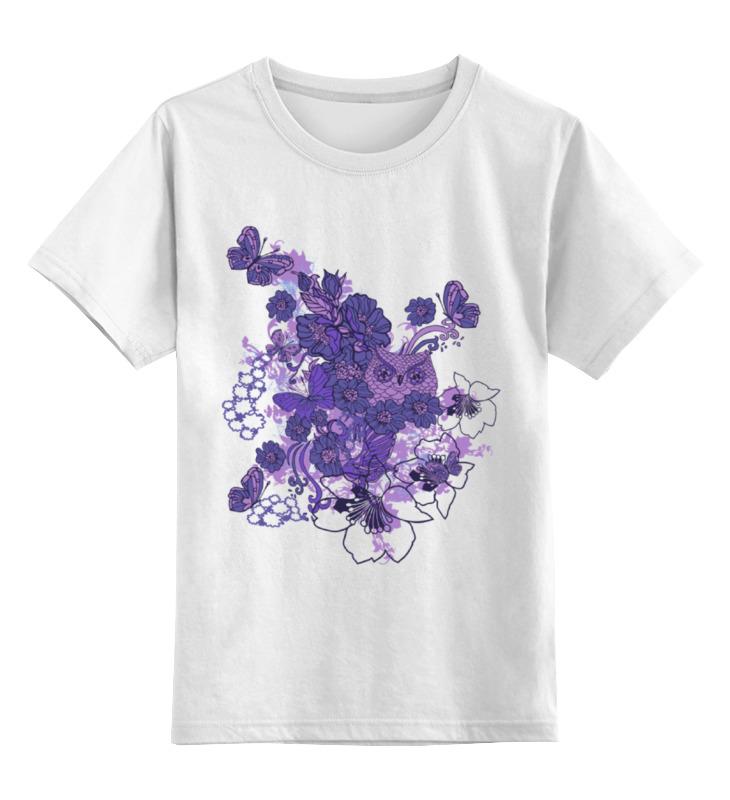 Printio Сова в цветах детская футболка классическая унисекс printio сова в цветах