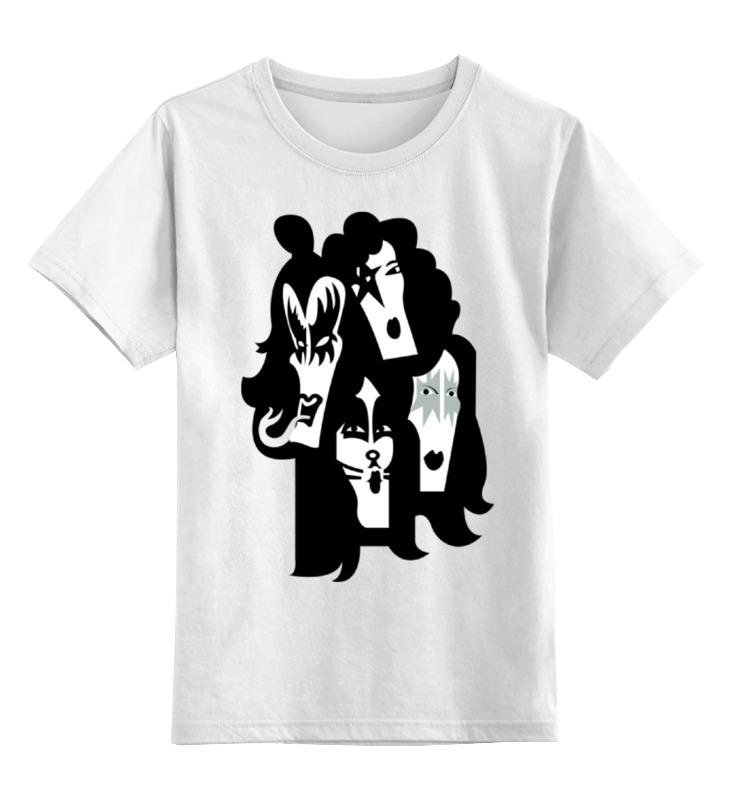 Детская футболка классическая унисекс Printio Kiss (кисс) детская футболка классическая унисекс printio кисс язык