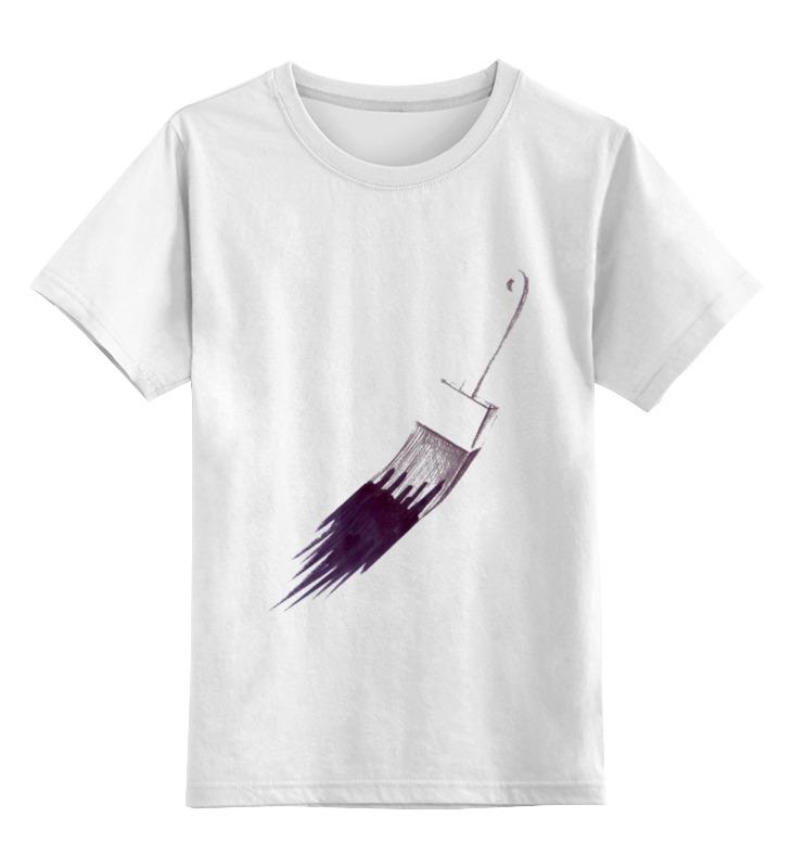 Детская футболка классическая унисекс Printio Маляр или первый мазок футболка для беременных printio маляр или первый мазок
