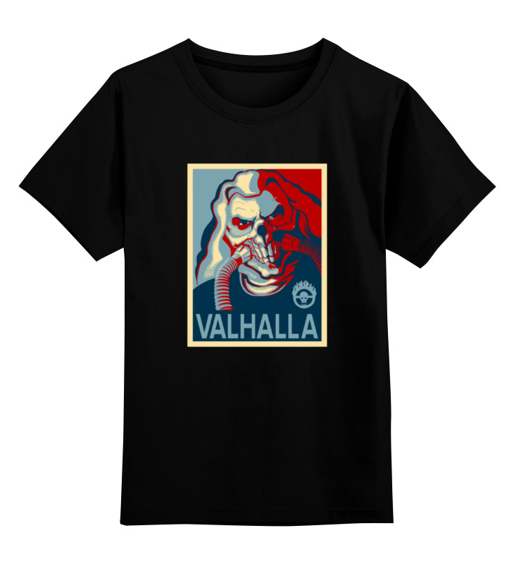 Детская футболка классическая унисекс Printio Бессмертный джо (валхалла) бессмертный