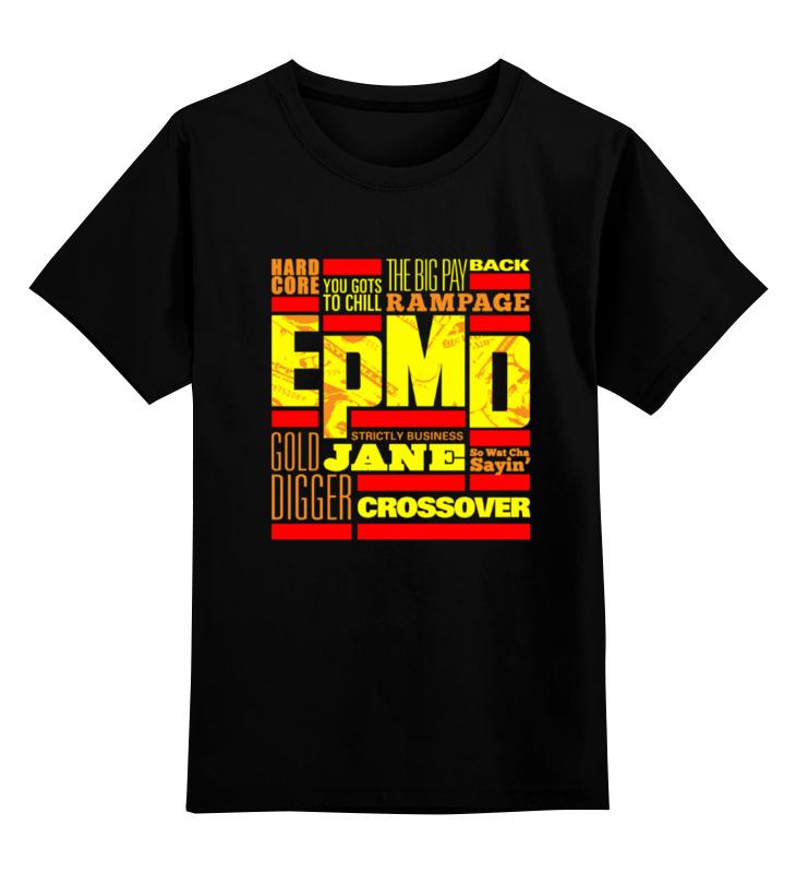 Фото - Детская футболка классическая унисекс Printio Epmd (rap) майка классическая printio epmd rap