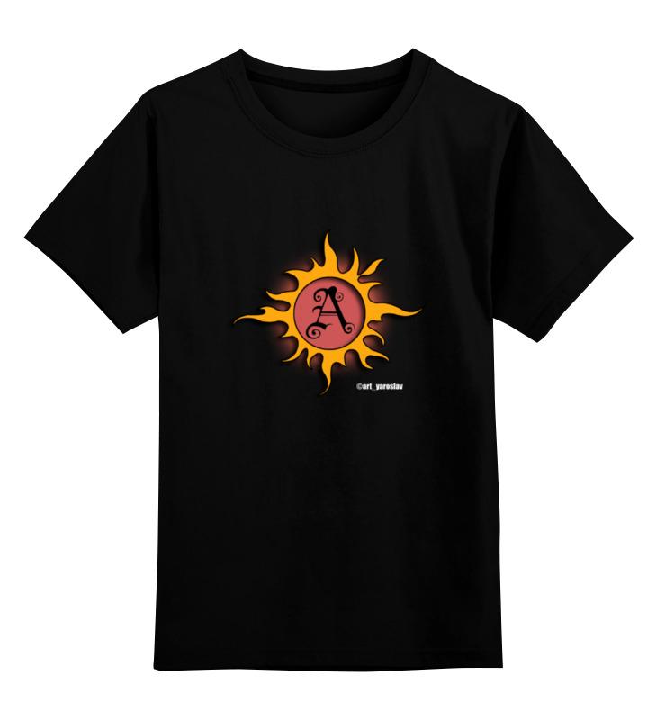 Детская футболка классическая унисекс Printio ©art_yaroslav - официальный логотип фотографа