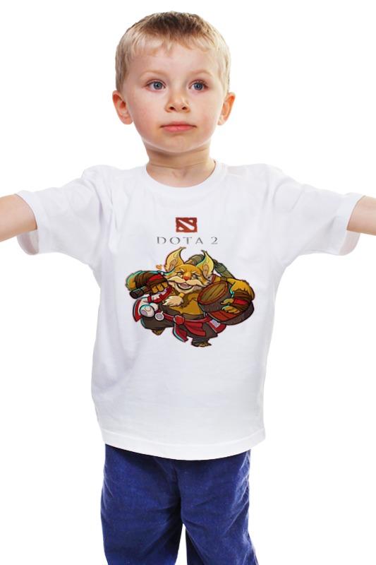 Детская футболка классическая унисекс Printio Дота 2 брюмастер футболка классическая printio dota 2 дота 2