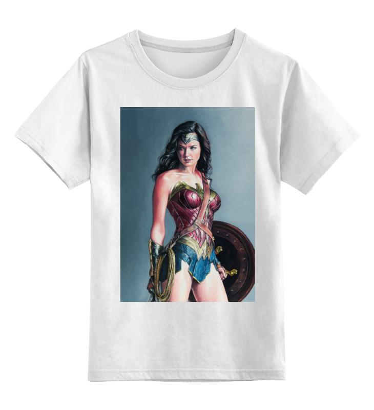 Детская футболка классическая унисекс Printio Чудо женщина детская футболка классическая унисекс printio мачете