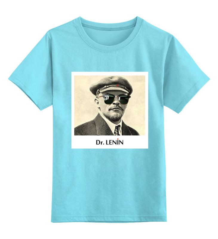 Детская футболка классическая унисекс Printio Dr. lenin ленин в ленин о троцком и троцкизме из истории ркп б