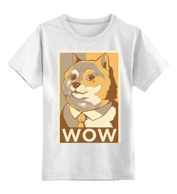 Детская футболка классическая унисекс Printio Such doge цена и фото