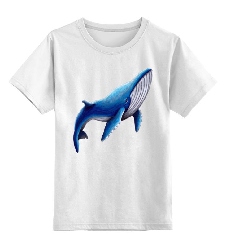Детская футболка классическая унисекс Printio Синий кит мастер кит mt1082