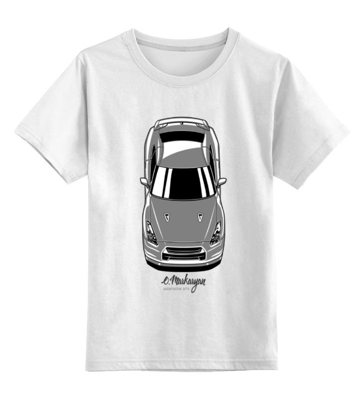 Детская футболка классическая унисекс Printio Gtr vertical футболка классическая printio nissan gtr r35