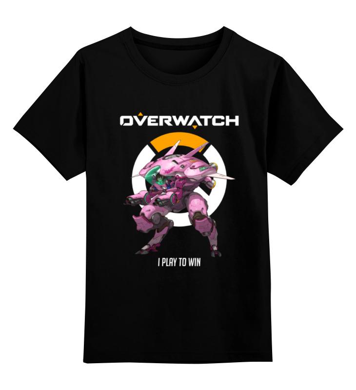 Printio Overwatch. d.va детская футболка классическая унисекс printio overwatch