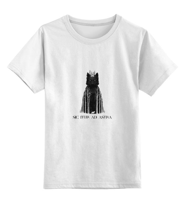 Детская футболка классическая унисекс Printio Так идут к звёздам
