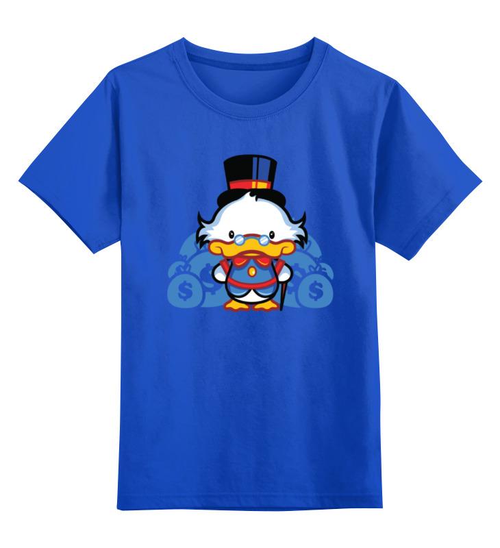 Детская футболка классическая унисекс Printio Скрудж макдак свитшот print bar скрудж макдак