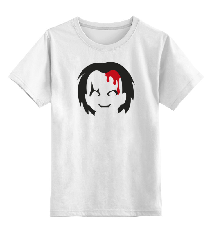 Детская футболка классическая унисекс Printio Чаки (детская игра) детская футболка классическая унисекс printio игра слов