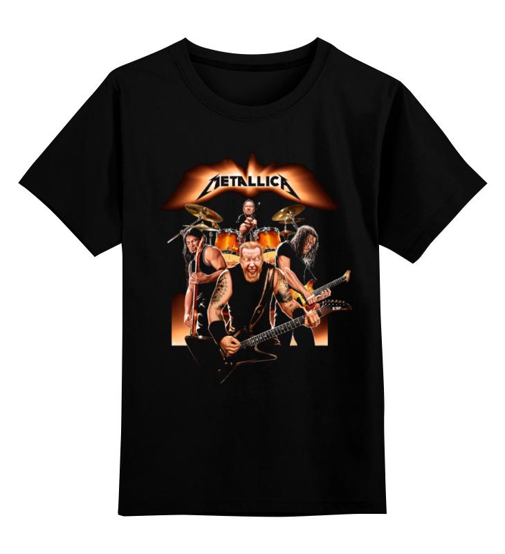 Детская футболка классическая унисекс Printio Metallica - fan-art brand new original adda ab07005hx07kb00 dc5v 0 40a qat10 notebook fan