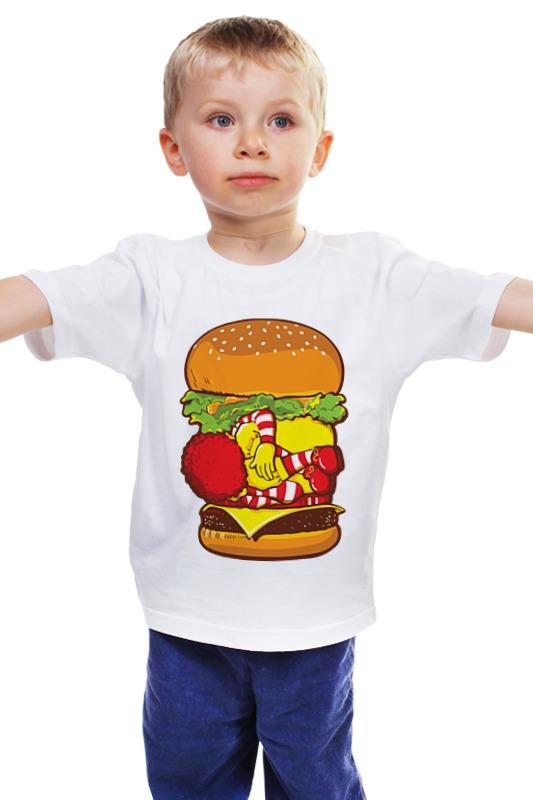 Детская футболка классическая унисекс Printio Чизбургер детская футболка классическая унисекс printio мачете