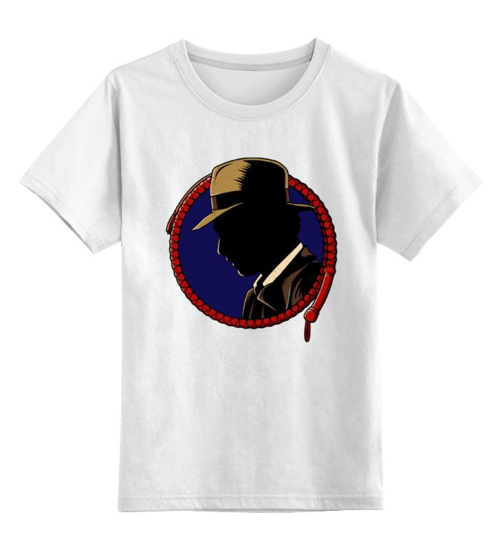 Фото Детская футболка классическая унисекс Printio Индиана джонс