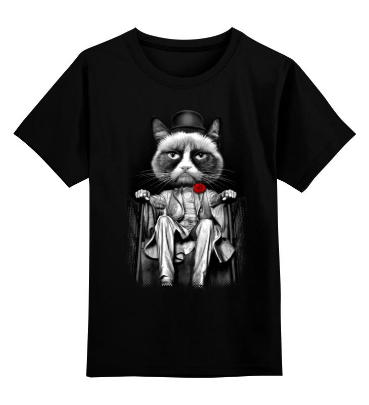 Детская футболка классическая унисекс Printio Мафия зубастая мафия