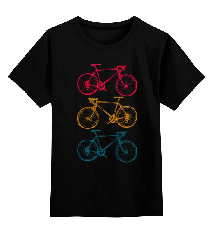 купить Детская футболка классическая унисекс Printio Велосипеды недорого