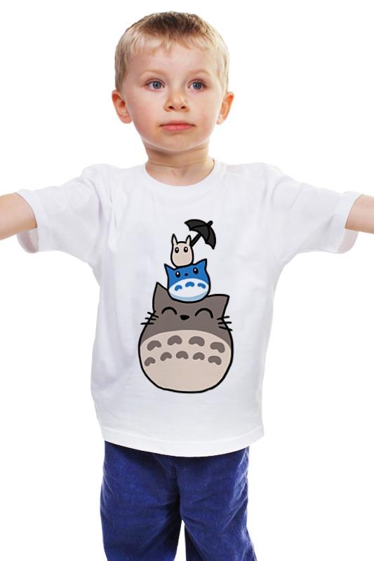 Детская футболка классическая унисекс Printio Тоторо детская футболка классическая унисекс printio мачете