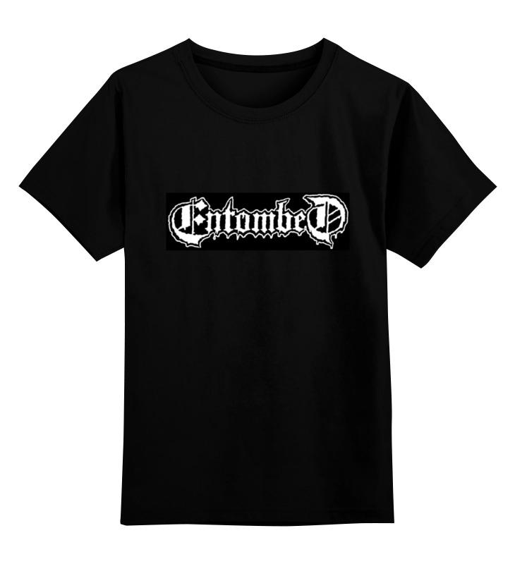 Детская футболка классическая унисекс Printio Entombed entombed a d entombed a d dead dawn audio mc