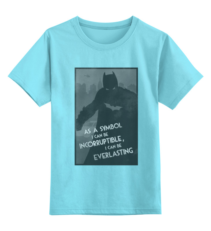 Детская футболка классическая унисекс Printio Batman begins женский костюм для косплея cos cosplay