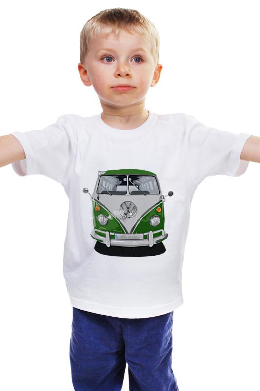 Детская футболка классическая унисекс Printio Volkswagen автобус volkswagen lt 28