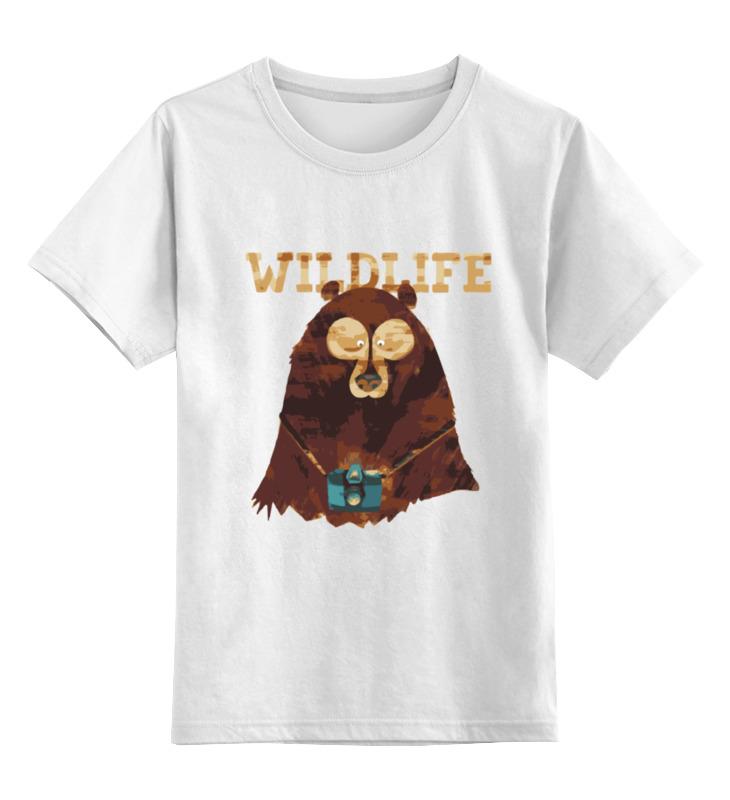 Детская футболка классическая унисекс Printio Wildlife детская футболка классическая унисекс printio spitfire