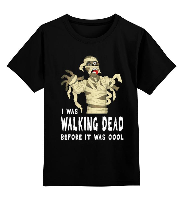 Детская футболка классическая унисекс Printio Мумия (ходячие мертвецы)