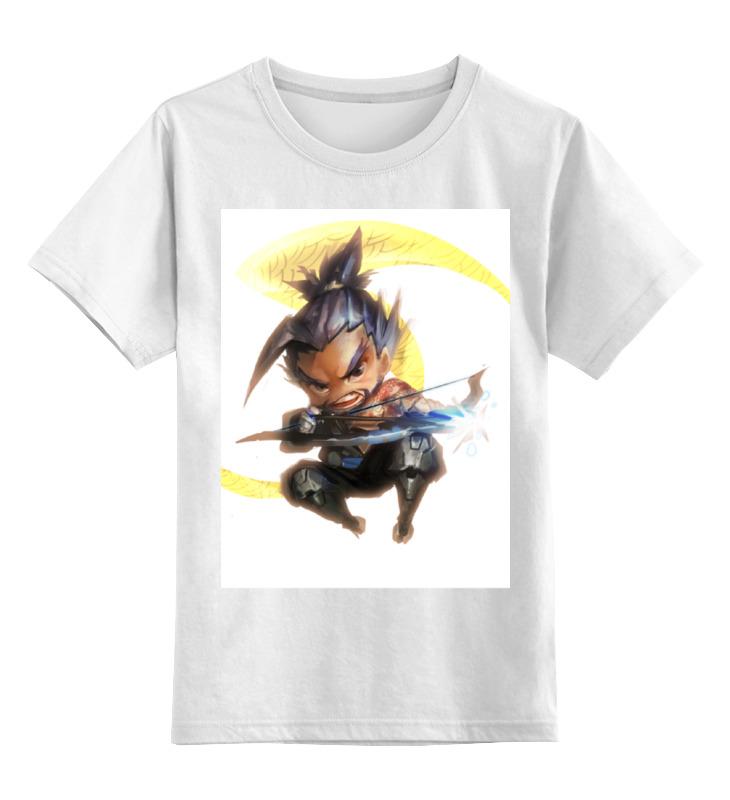 Детская футболка классическая унисекс Printio Ханзо цена и фото
