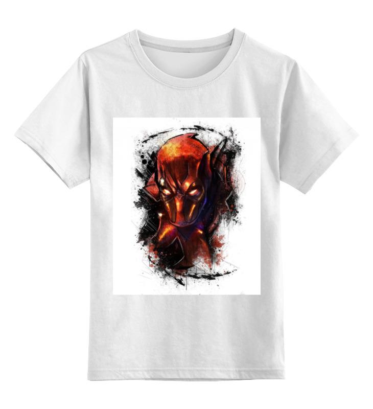 Детская футболка классическая унисекс Printio Дэдпул (deadpool) детская футболка классическая унисекс printio bart deadpool